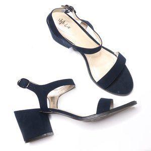 Style & Co   Mollee Block Heel in Navy 10M